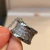 Version élevée Clear CZ Silver Pendentif Colliers Designer Bijoux pour femmes