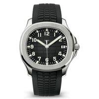 Relojes para hombre Movimiento automático Aceros inoxidables Correa de goma cómoda Cierre original Zapphire Glass Super Luminoso Montre de Luxe
