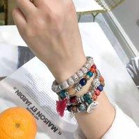 European and American bangle multi-layer bracelet Bohemian Su pendant beaded national scenic souvenir decorative bracelet, let you lead the trend.