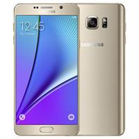 Odnowiony oryginalny Samsung Galaxy Note 5 Dual SIM N9200 5,7 cala OCTA Core 4 GB RAM 32 GB ROM 16MP 4G LTE Telefon DHL 1szt