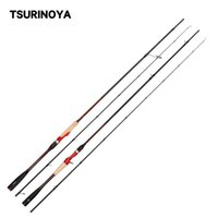 Boat Fishing Rods TSURINOYA INSPIRATION Casting Spinning Rod TORAY Spiral X Carbon 2.21m 2.36m 2 Section ML 7-18g Lure Tackle
