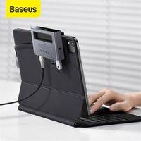 Baseus USB HUB 3.0 Type C HUB to 4K HD TF SD Slot Retractable Clip C Smartphone Adapter USB Type C for iPad MacBook