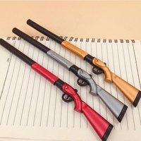 Gel Pens Creative Rifle Gun Pen Cute Student Office Stationery School Water Ink Toy Black Signature Escolar