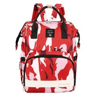 Diaper Bags Portable Bag For Baby Care Maternity Nappy Backpack Multi-function Waterproof Mommy Camouflage