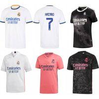 2021/22 Real Madrid Soccer Jersey 2022 Pericolo Modric ISCO Vini JR. Uniform # 4 Sergio Ramos Odegaard Asensio Casemiro Camicia