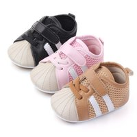 First Walkers Spring Autumn Baby Casual Shoes Infant Fashion Sneakers Single Sports Black Pink Brown Color