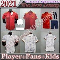 2021 Spanien Fussball Jersey Spieler FSAN-Version Camiseta España Paco Morata A.Inasta Pique 20 21 European Cup Alcacer Sergio Alba Männer Kinder