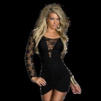 Casual Dresses Long Sleeved Patchwork Bodycon Dress Women Solid Sleeve Evening Elegant Pleated Sexy Party Mini