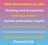 En Kaliteli Özel Yama DIY Her türlü Demir On Yamalar Giysi Çıkartmaları Için Özel İşlemeli Sevimli Yamalar Aplike