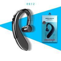 드라이버 무선 후크 블루투스 이어폰 아이폰 헤드셋 S109 패키지 HD 마이크 핸즈프리 비즈니스 Nosice 귀를 취소하는 귀에 대 한 tbnwe