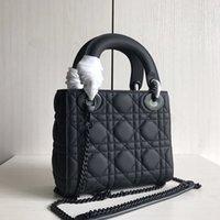Высокое качество Леди Элегантная сумка Сумка Messenger Fashion Fashion Универсальный классический роскошный дизайнерский бренд с коробкой Silk Scarf
