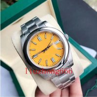 Luxury fashion classic leisure men's watch, 41MM waterproof, luminous business sport stainless steel automatic mechanical movement
