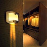 Беспроводной датчик движения активирован светодиодный настенный ночной светильник аккумуляторная палка в любом месте настенный светильник для прихожей спальни шкаф лестницы