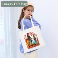 Blank Sublimation Handbag 35*40cm White DIY Canvas Tote Bag Classic Storage Bags Outdoor Portable Backpack 4966 WHT0228