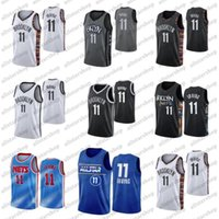 Erkek basketbol forması 11 Kyrie Irving 2021 şehir mavi üniforma yeni sezon