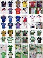 Scotland Retro Soccer Jersey Celtic Glasgow 1984 86 87 88 89 91 92 93 94 95 96 97 98 99 2002 GASCOIGNE LAUDRUP LASSON LADRUP SAISON CLASSIQUE CHEMISE DE FOOTBALL