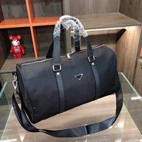 Männer Mode Duffle Bag Triple Black Nylon Reisetaschen Herrengriff Gepäck Gentleman Business Tasche mit Schultergurt Rave Bewertungen H01