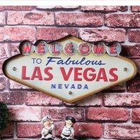 Vente en gros - Las Vegas Décoration Métal Peinture Neon Beaucoup Signes Bar Bar Décoration murale 707 K2