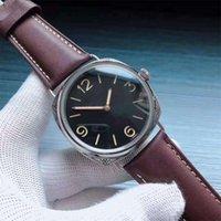 Relógio de Luxo Pam00672 SF Mens Relógios 47mm * 15.5mm P3000 / F Movimento Capa de Aço Safira Espelho Resistente a Rastos Ty