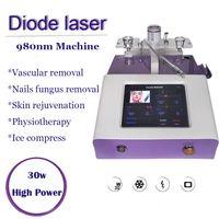 Диодная лазерная сосудистая терапия машина 980 нм варикозная вена линии удаления вен вены Удаление ногтей грибок лечение физиотерапевтическое оборудование