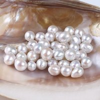 9- 11mm Water Drop Shape AA+ Grade Freshwater Loose Pearl Bea...