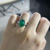 HBP fashion Shipai jewelry 2021 new imitation Emerald Ring