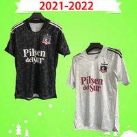 S-XXL NOVO 2021 2022 COLO COLO SOCCER JERSERYS Home Falcon Blandi Suazo Campos 21 22 Camisa de futebol OPAZO Top Quality Branco Preto