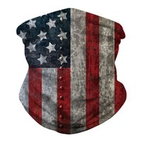 US Flag Scarf 3D Masks Party Decoration Men Women Scarfs Headband Sports Head Scarves Washable Protective Outdoor Sport Face Mask ZZA6084