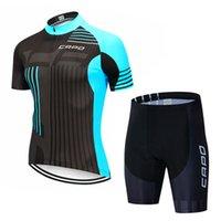 2021 Yeni Capo Pro Bisiklet Formaları Set Yaz Bisiklet Giyim Dağ Bisikleti Giysileri Bisiklet Giyim MTB Bisiklet Giyim Bisiklet Takım Elbise