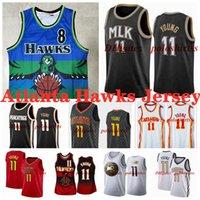 Trey 11 Genç Basketbol Formaları Beyaz 8 Smith Dikembe 55 Mutombo Jersey NCAA 2021 Mens Gençlik Çocuk Baskı Şehir Hayranları Gömlek S-XXXL