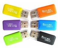 Stable Premium Universal Card Readers TF T-Flash Micro Secure Digital Memory Card Nice Mini USB 2.0 Reader Adapter TransFlash