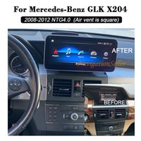 Car dvd Radio Android Multimedia Player For Mercedes Benz GLK-Class X204 2008-2012 NTG4.0 upgrade to 10.25 Inch Touch Screen GPS navigation in dash head unit stereo