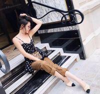 Sıcak-Hakiki Deri Inci Yüksek Topuklu OL Elbise Ayakkabı Lady Bej Beyaz Siyah Tek Kişilik Ayakkabı Güzel Kalite