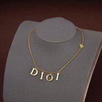 2022 Edelstahl Brief 14K Gold Kubanische Link Kette Halskette Choker Armband Für Frauen Liebhaber Geschenk
