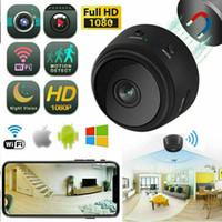 A9 1080P Full HD Mini Spy Video CAM WIFI IP Inalámbrico Seguridad Cámaras ocultas Indoor Home Vigilancia Visión nocturna Pequeña videocámara MQ50