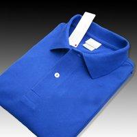 LACOSTE Francia Classico Coccodrillo T-shirt da uomo a maniche corte T-shirt a maniche corte Polosa Polo Casual Polo Homme T-shirt da uomo traspirante T-shirt cinese S-6XL