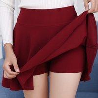 Shorts Skirts Womens Fashion Summer A High Life Gonna Fold Wind Cosplay kawaii Mini Gone Court Under it Jupe Falda