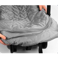 Stroller Parts & Accessories 57EE Born Baby Basket Car Seat Cover Infant Carrier Winter Cold Weather Resistant Blanket-Style Canopy