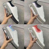 Alexander McQueen 2021 مصمم الرجال النساء espadrilles الشقق منصة الأحذية المتضخم espadrille الأحذية المسطحة أحذية بيضاء صغيرة الحجم 36-45 V6IO # ZZK