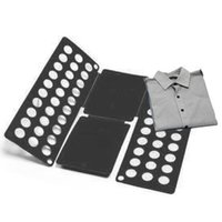 Gavetas de armazenamento Multifuncitonal Magic Folding Board Adulto Kid Economize tempo para dobrar roupas rápido velocidade T-shirt fácil organizar 38 * 40cm