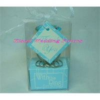 (25 Pieces lot) Wedding Gift of With this Engagment ring key chain favors for bridal shower gifts and PartyHCC0