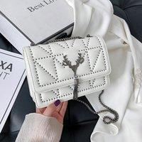 Pu Leather Womens Shoulder Bag Willow Nail Chain Girls Purse Tassel Brand Luxury Designer Handbags For Women Bolso Mujer Sac