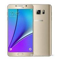 Оригинальные Samsung Galaxy Note 5 N920A N920T N920P N920V N920F OCTA CORE 4GB / 32GB 5.7 дюймовый 2560 x 1440