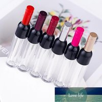 Storage Bottles & Jars 20pcs 5ML Refillable Lip Gloss Tubes Grade Clear Plastic Empty Make Up DIY Containers Tools Wine Bottle