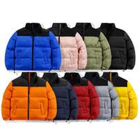 Moda Erkek Stylist Ceket Yaprakları Baskı Parka Kış Ceket Erkekler Kadınlar Kış Tüyü Palto Ceket Aşağı Ceket Kaban Boyutu S-2XL JK005