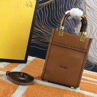 Donne sole borse borse lettera f piccolo tote shopper borse signora grande borsa a tracolla ad alta capacità sacchetto a tracolla staccabile largo cinturino a due colori la migliore qualità