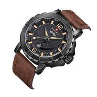 Orologi da polso sport orologio sportivo concetto creativo uomini marinaio business casual impermeabile banda in acciaio quarzo watcn