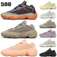 Kanye 500 Ayakkabı Erkek Kadın Spor Sneakers Taupe Işık Taş Yumuşak Görüş Kemik Beyaz Yardımcı Siyah Allık Tuz Pembe Erkek Bayan Eğitmenler Boyutu 36-46