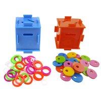 Bird Parrot Color Seating Coin Box Intelligence Разработать тренировку головоломки игрушки для африканских серых