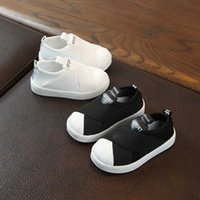 2021 Slip on Girls Shoes Sneakers Sports Designer Kids Shoes Boy Comfortable Baby Sneakers 1-6 Years Student Kid Trainers E08104 G0908